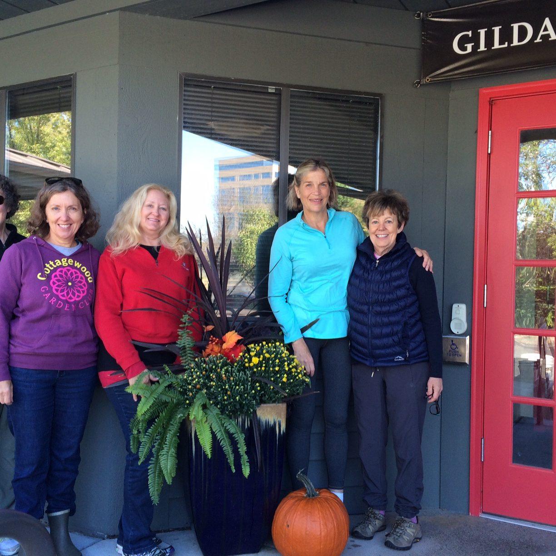 Fall Pots at Gilda's